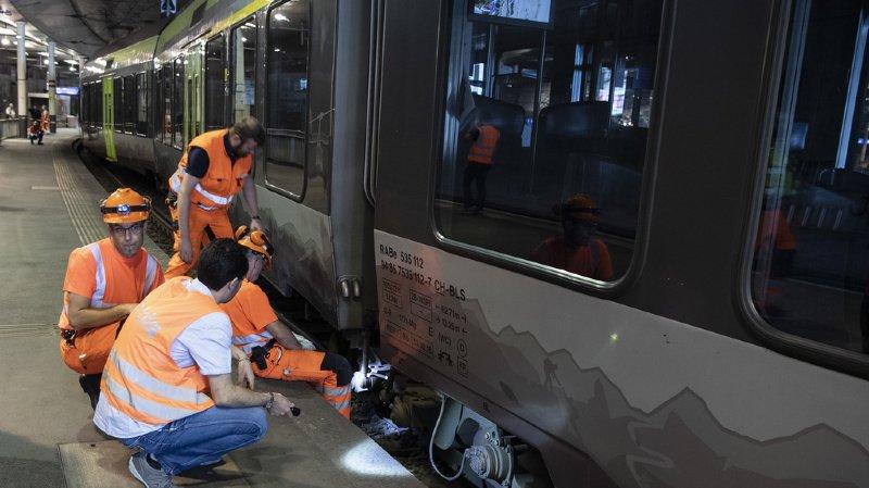 Transports publics: le déraillement d'un train en gare de Berne perturbe le trafic