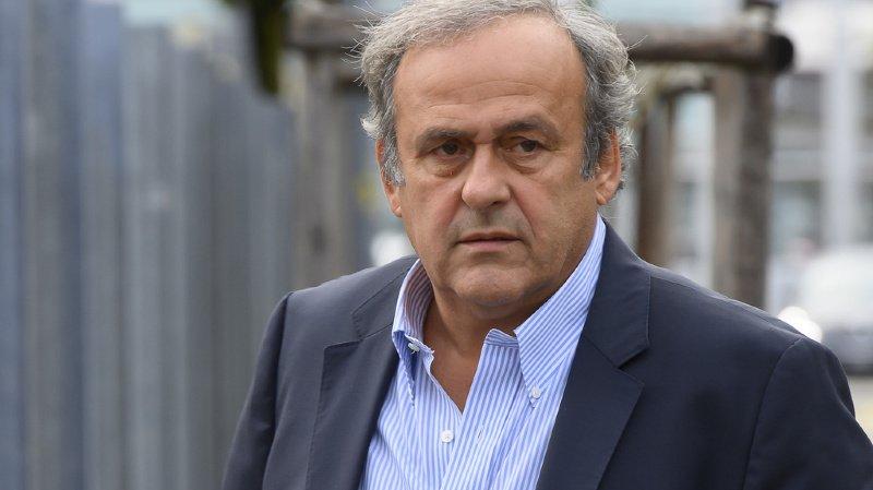 Affaire FIFA: Michel Platini plaide sa cause à Berne devant le MPC