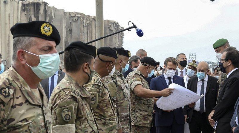 M. Macron a assuré que M. Adib avait «un soutien massif des forces politiques».