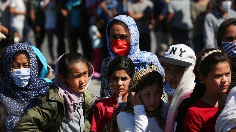 Incendie du camp de Moria: Neuf pays de l'UE et la Suisse vont accueillir 400 migrants mineurs