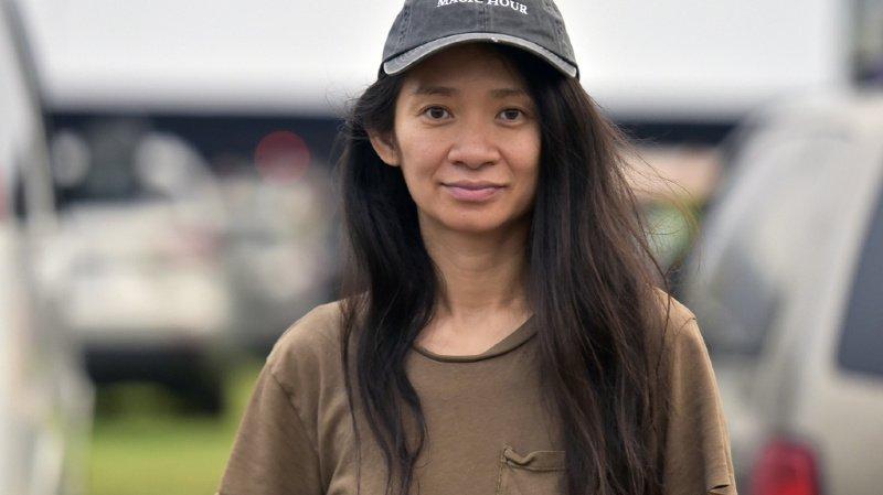 La réalisatrice américaine d'origine chinoise, âgée de 38 ans, est la première femme à recevoir le prestigieux prix depuis 10 ans (ILLUSTRATION).