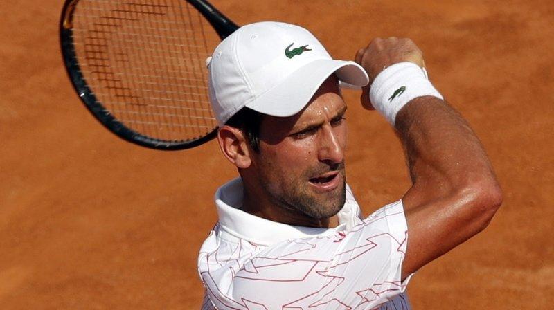Tennis: Djokovic en finale du Masters 1000 de Rome