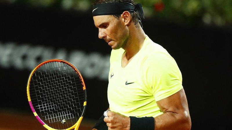 Tennis – Masters 1000 de Rome: Nadal déroule pour aller en quarts