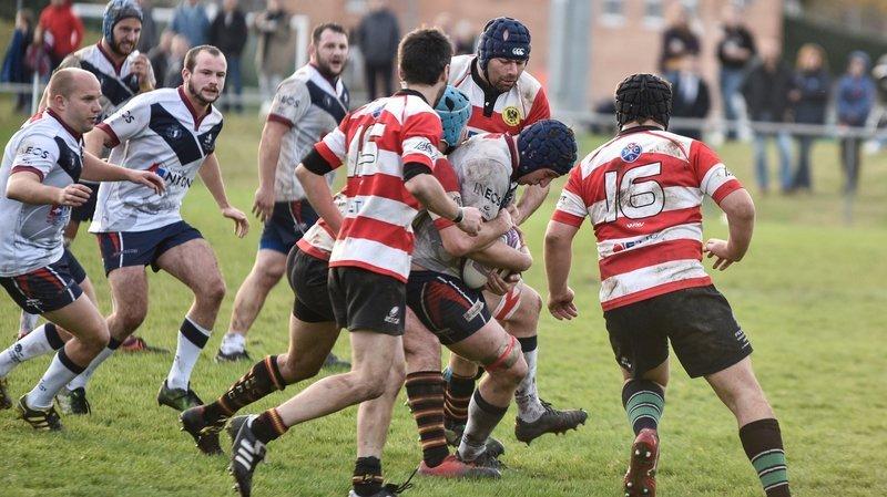 Le Nyon Rugby Club tombe de haut à Yverdon