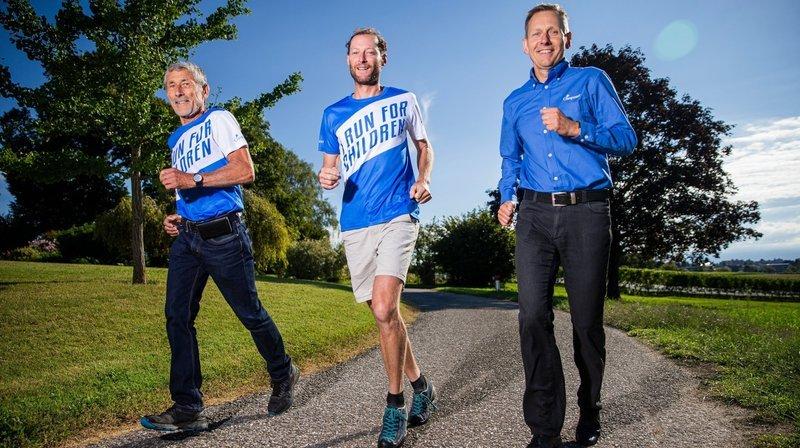Ils courent 670km pour les enfants démunis