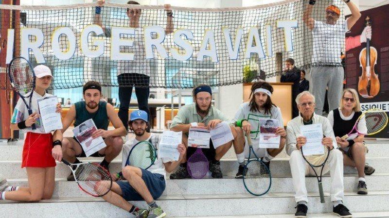 Climat: acteII pour les 12 militants acquittés en janvier Lausanne