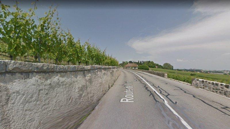 Aubonne: un motard se tue sur la route de Féchy