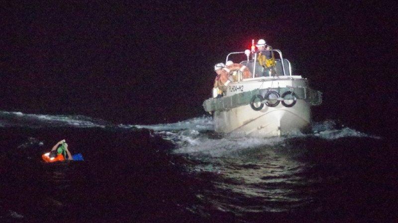 Cargo naufragé au large duJapon: recherches suspendues par l'arrivée du cyclone Haishen