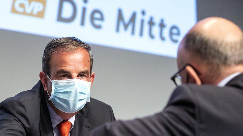 Le président du PDC Gerhard Pfister appelle les délégués au renouveau.