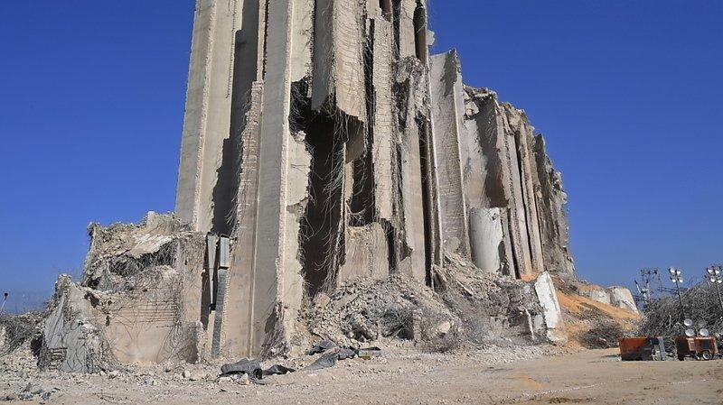 """Une cargaison de 2750 tonnes de nitrate d'ammonium était stockée depuis plus de six ans """"sans mesures de précaution"""" dans un entrepôt du port de Beyrouth (archives)."""