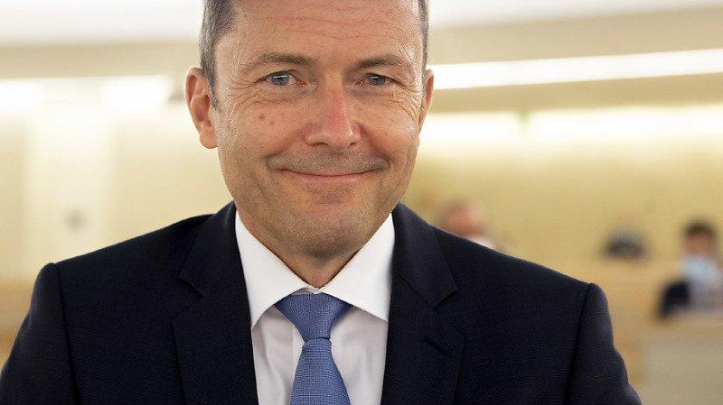 L'ambassadeur suisse à l'ONU à Genève Jürg Lauber estime que le groupe de travail de l'ONU sur l'utilisation de mercenaires a outrepassé son mandat (archives).