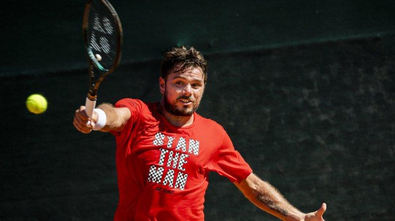 Tennis: Wawrinka en quart de finale du challenger de Prague