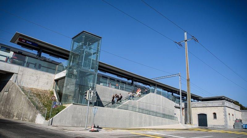 Les CFF ont investi près de 20 millions pour rénover la gare de Rolle.