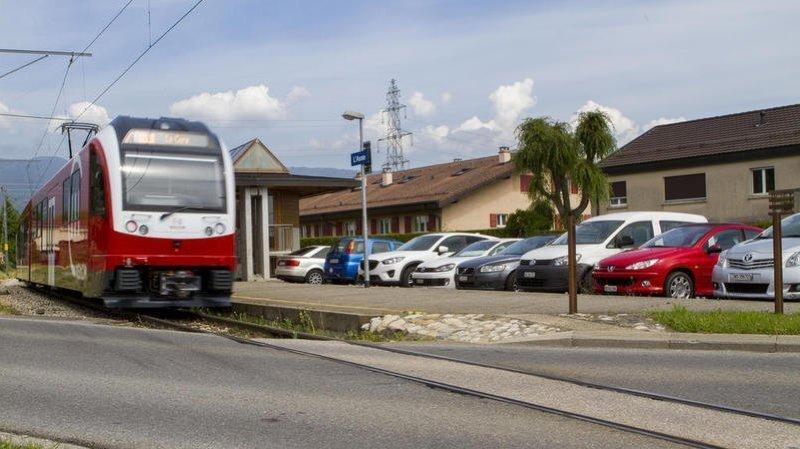 La ligne du petit train rouge interrompue de nuit à cause de travaux