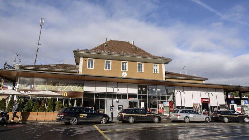 La gare de Morges est en cours d'évacuation.