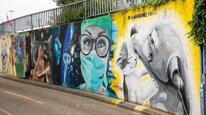 Gland incite les «graffeurs» à investir l'espace public