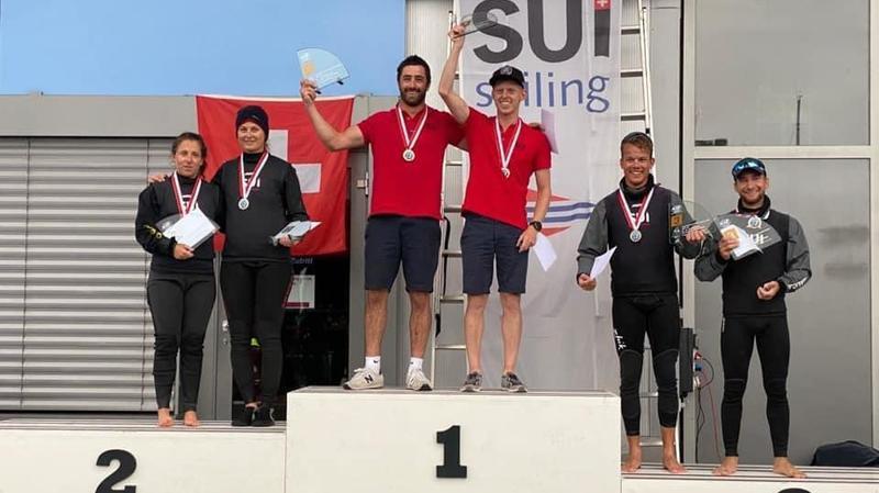Voile: un 3e titre national en 470 pour Siegwart/Wagen