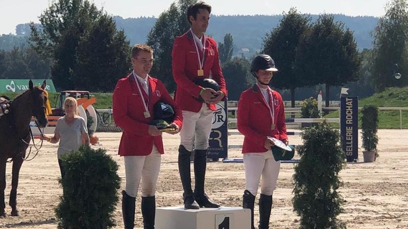 Concours complet: Caroline Gerber décroche sa première médaille nationale élite