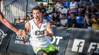 Un Morgien élu «joueur le plus spectaculaire » du basket 3x3 mondial