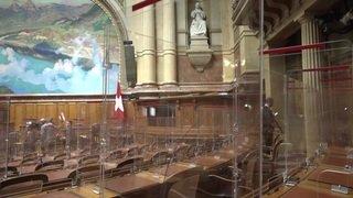 La politique derrière le plexiglas : le Parlement adapté pour le coronavirus est prêt pour la session d'automne