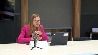 """VIDEO - Conférence de l'OFSP : """"Le nombre de nouveaux cas augmente continuellement"""""""