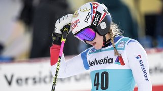 Ski alpin: nouvelle blessure pour la Vaudoise Charlotte Chable