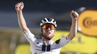 Cyclisme: Marc Hirschi désigné super combatif du Tour de France