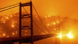 Les incendies ravagent la côte ouest des Etats-Unis