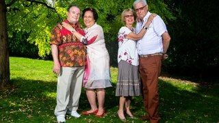 Gland: il y a cinquante ans, ils se mariaient le même jour!