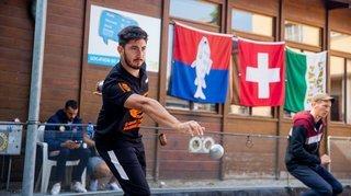 Un champion du monde a vaincu l'orage à Perdtemps
