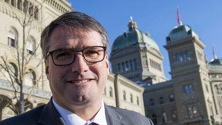 Fribourg: Christian Levrat présente sa candidature au Conseil d'Etat