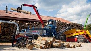 Une entreprise de Montricher détient le record mondial de stères de bois fendu