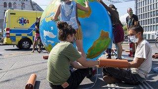 Réchauffement climatique: Extinction Rébellion déplore l'inaction du canton de Genève
